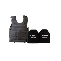 """Expert Carrier Vest w/Two 10""""X12""""/UrbnGry NCSTAR"""