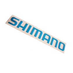 SHM DECAL SET LARGE CYAN SHIMANO