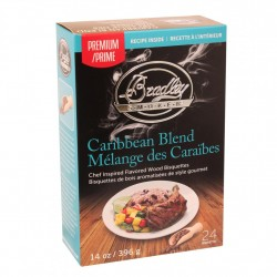 Caribbean Blend Bisquettes 24-Pack BRADLEY-TECHNOLOGIES