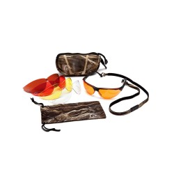 DU Shooting eyewear  kit w/ 5 lenses PYRAMEX-SAFETY-PRODUCTS