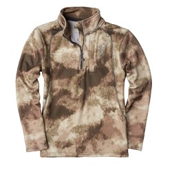 SHT,YOUTH,WASATCH,1/4ZIP,AU,XL BROWNING