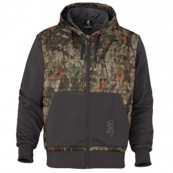 HOODIE,CONTACT-VS,TD-X,L BROWNING