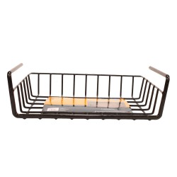 "SNAPSAFE HANGING SHELF BASKET (8.5""x11"") SNAPSAFE"