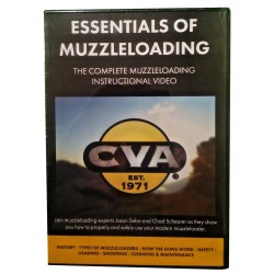 Essentials of Muzzleloading Inst Video CVA