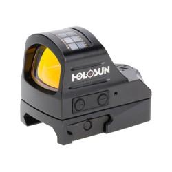 Micro Red Dot,Parallx Free,Solar,BLK,2MOA HOLOSUN