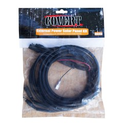 Solar Panel Kit -Cable Extender - ~10 Ft. COVERT-SCOUTING-CAMERAS