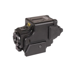 Compact Ambidextrous Green Laser,IM,Black LEAPERS-INC