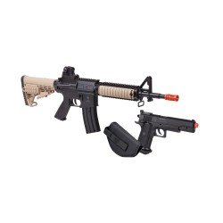 Warrior Protection Kit (Earth/ Blk)Spring CROSMAN
