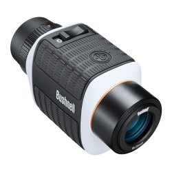 8X25 Is BLK/White Roof Imge Stabilization BUSHNELL