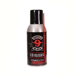 BLK Lube Aerosol Black 4Oz w/Straw,Can HOPPES