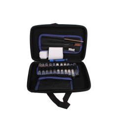 22pc Pistol Cleaning Kit: Soft Sided Case GUNMASTER