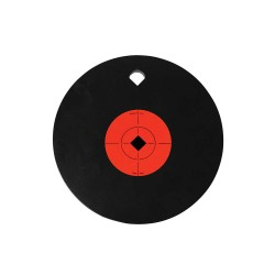 "10"" Gong one hole 3/8"" AR500 Steel BIRCHWOOD-CASEY"