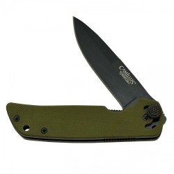"CUDA Mini 6.75"" Folding Knife, Drab Green CAMILLUS-CUTLERY-COMPANY"
