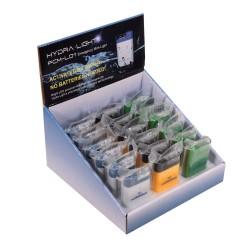 Mini Disposable Mix (Blu,Grn,Yel)- 18 pcs HYDRA-LIGHT