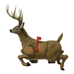 Deer Mailbox RIVERS-EDGE-PRODUCTS