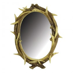 Deer Antler Wall Mirror RIVERS-EDGE-PRODUCTS