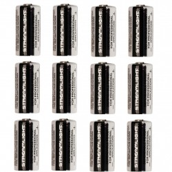 Lithium Batteries 12 pack, CR123A STREAMLIGHT