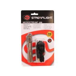 "MicroStream USB w/ 5"" USB cord-Clam-Coy STREAMLIGHT"