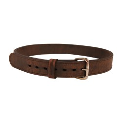 "DOUBLE PLY XHD LEATHER BELT-Brown-SZ 38"" VERSACARRY"