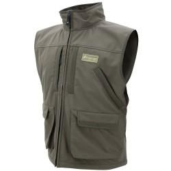 Pilot Fleece Vest-Brown-Size LG FROGG-TOGGS