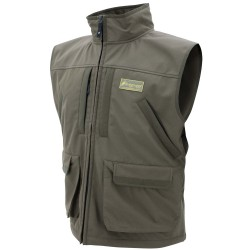 Pilot Fleece Vest- Brown-Size MD FROGG-TOGGS