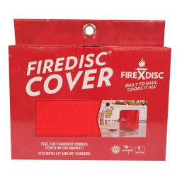 "FireDisc Cover 24"",Fireman Red FIREDISC-COOKERS"