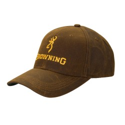 Cap,Dura Wax Sad-Brown Ea BROWNING