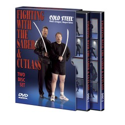 Fighting w/Cutlass & Sabre DVD COLD-STEEL