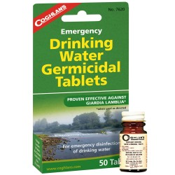 Drinking Water Tablets COGHLANS